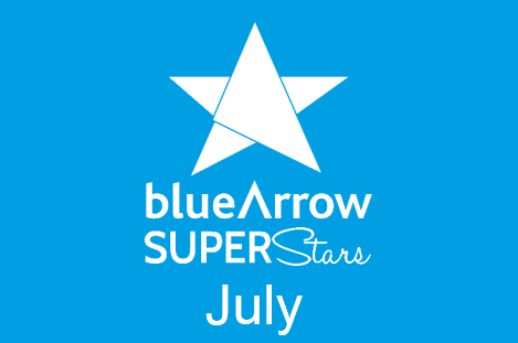 Blue Arrow Superstars July