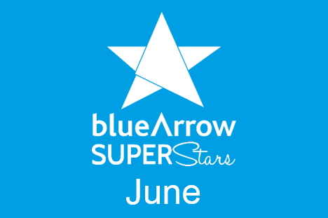 Blue Arrow Superstars June