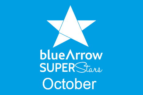 Blue Arrow Superstars October