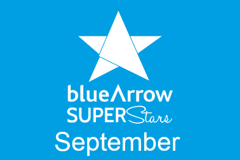 Blue Arrow Superstars September