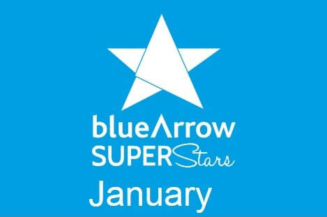 Blue Arrow Superstars January