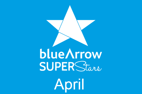 Blue Arrow Superstars April