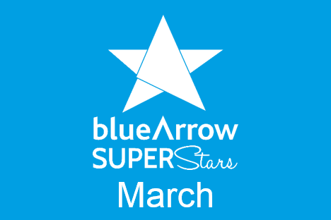 Blue Arrow Superstars March