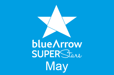 Blue Arrow Superstars May