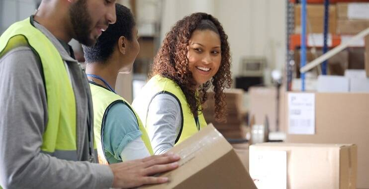 3 ways to upskill and boost your career and pay packet blog picture of warehouse workers