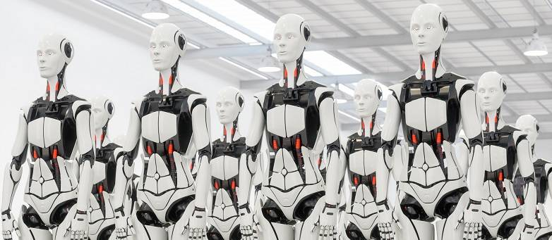 Dark Side of Automation, army of robots