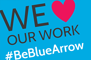Blue Arrow Internal Vacancies #BeBlueArrow