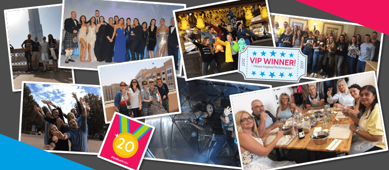 Reward and Recognition, Blue Arrow staff at VIP Awards trip to Alton Towers, Gold Winners Trip to Dubai. Staff Conference and Long Service Awards lunch.