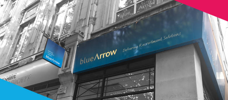 Birmingham branch front, Blue Arrow