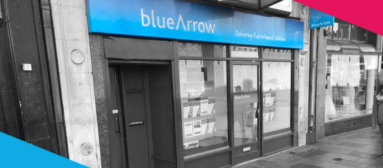 Blue Arrow Cardiff Branch Front, 13 Duke Street, Cardiff