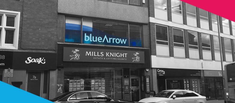 Blue Arrow Norwich Branch on the highstreet,  1st Floor, 9 Bank Plain