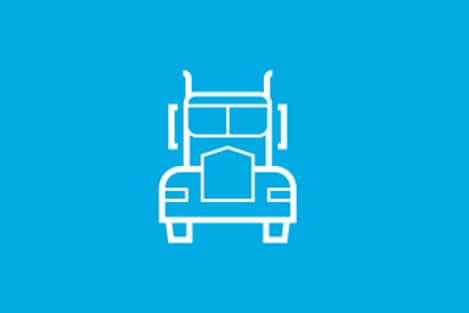 Transport and Logistics  - Blue Arrow Sector Reports  - Truck Icon