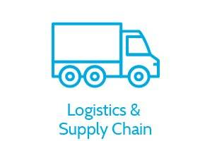 Logistics and Transport Types of Supply, Logistics and Supply Chain, Truck Icon