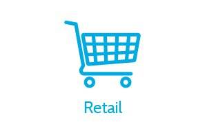 Logistics and Transport Types of Supply, Retail, Shopping Basket Icon