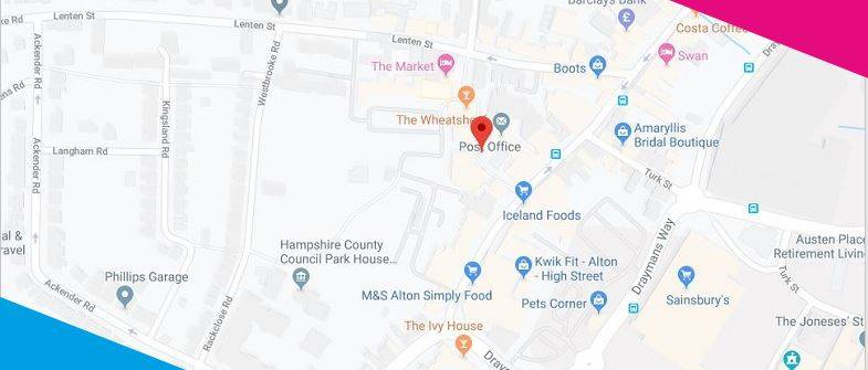 Google Map for Capita Alton Business Centre