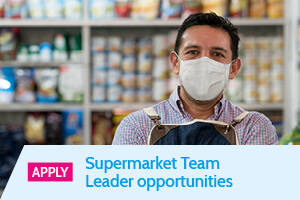 'Apply' Supermarket Team Leader opportunities - Static Banner