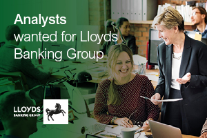 Analysts wanted for Lloyds Banking Group