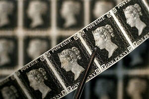 History of Royal Mail, The first ever stamp