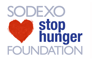 "Sodexo Stop Hunger Charity Logo  - ""Sodexo Stop Hunger Foundation, The alliance to end hunger"