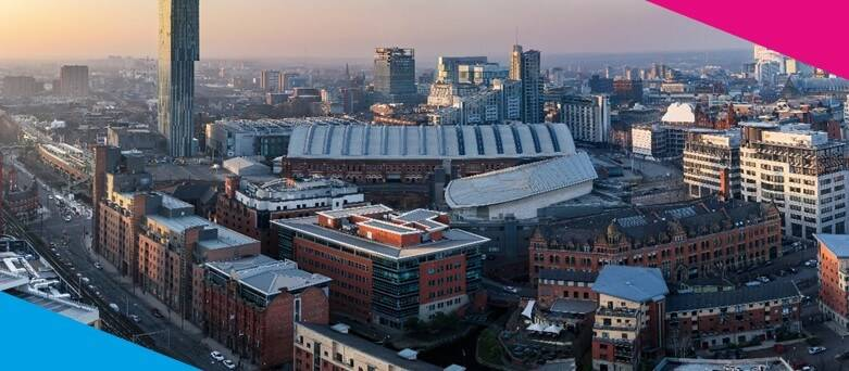 Chef Jobs Manchester, Aerial view of Manchester City