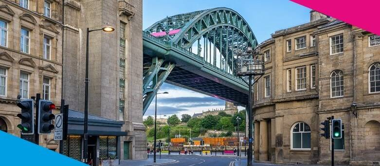 Chef Jobs Newcastle, Tyne Bridge during the day