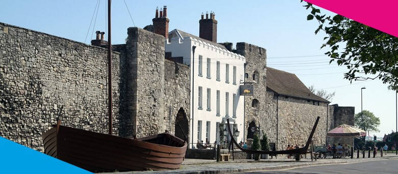 Chef Jobs Southampton - Old Town Southampton, Iconic Landmark of Wooden Boat in Concrete