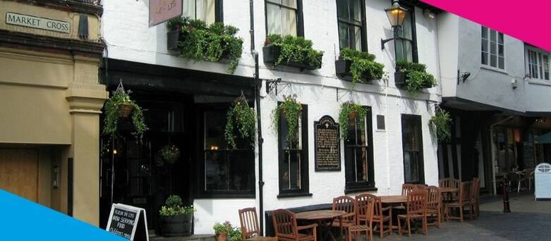 Chef Jobs St Albans - Image of pub on St Albans high-street