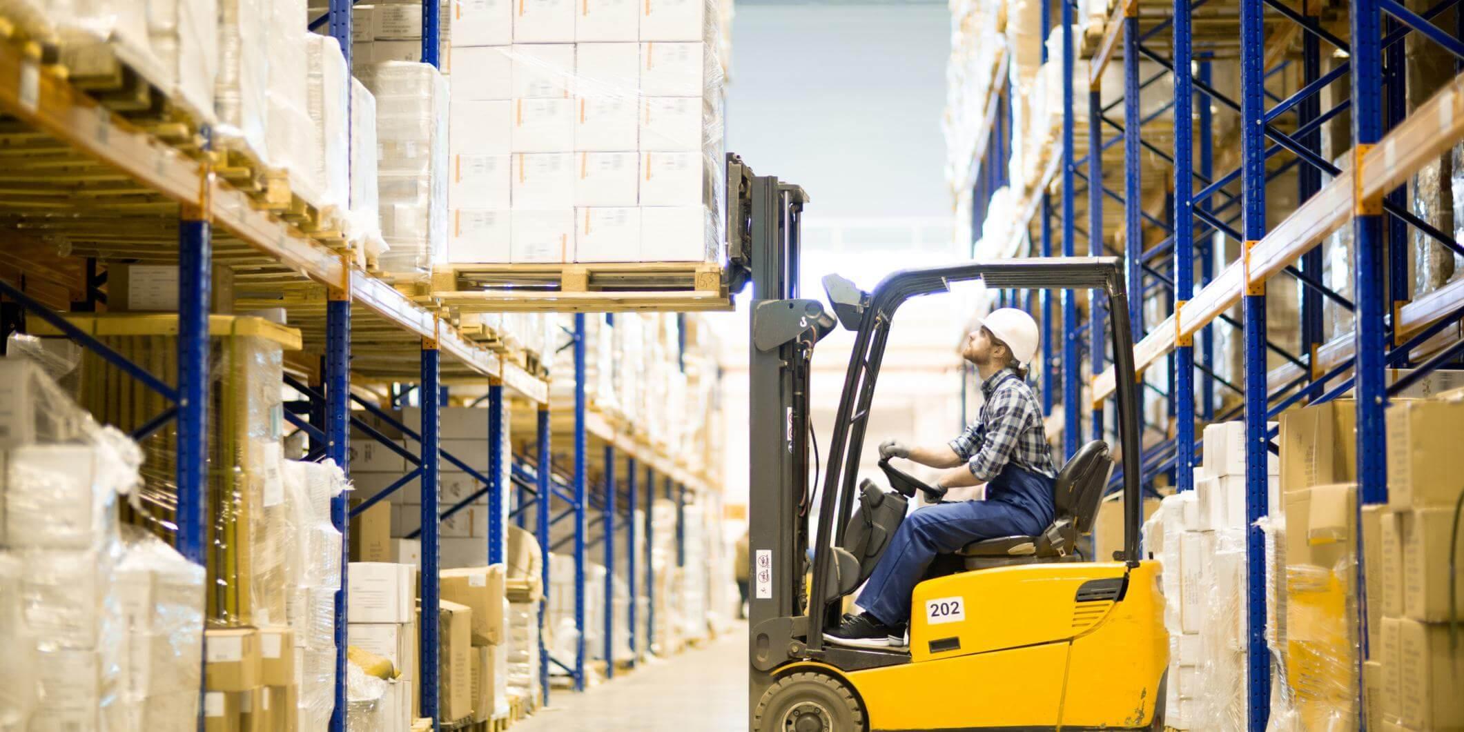 Being a Forklift Truck Driver | Blue Arrow