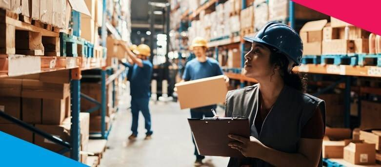 Warehouse Tips, Tricks and Advice  - Female Warehouse Operative checking inventory