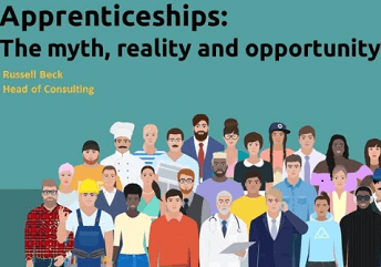 Apprenticeships: The myth, reality and opportunity, seminar hosted by Russell Beck, Head of Consulting, Impellam