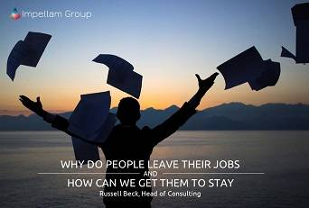 Attrition and Motivation: Why people leave their jobs and how can we get them to stay