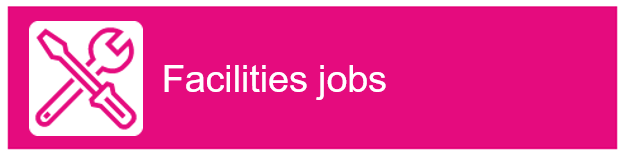 "Screwdriver and Wrench icon with ""Facilities jobs"" as text"