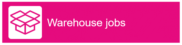 "Box icon with text ""Warehouse jobs"""